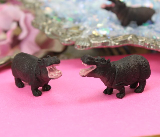 Happy Hippo Safari - Set of 4 - 234-3022
