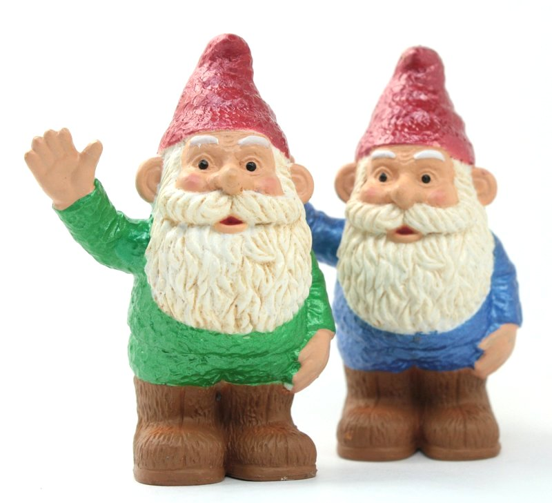 "Gnome - 2.5"" Green Waving - 268-2429-GN"