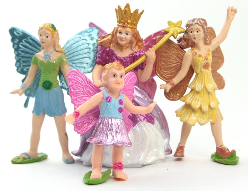 "Fairy Set -  Set of 6  - 2"" Tall - 268-9804"