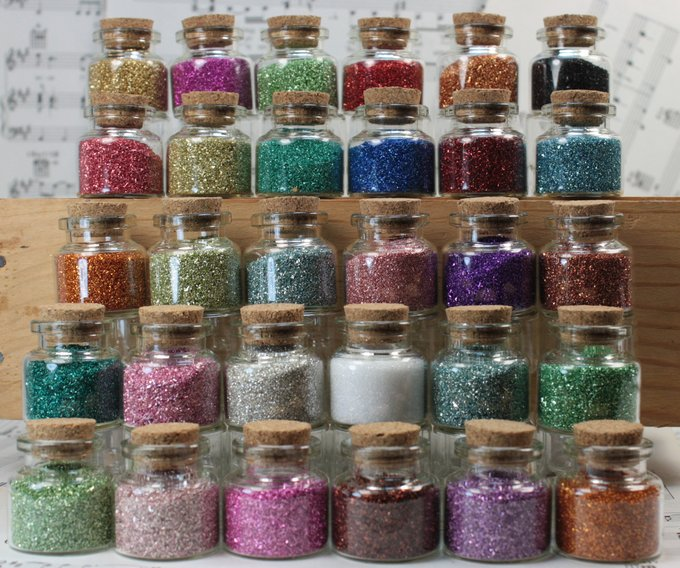 Glitter Treasures 30 Bottle Set - 310-841-30SET