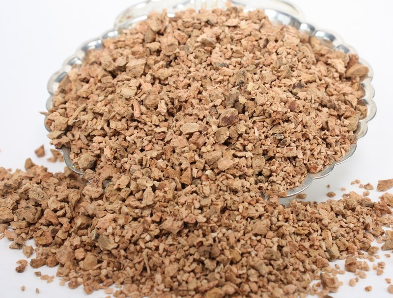 Brown (Tan) Cork Chips - Lg 1oz Jar - Terra Textures - 311-0054