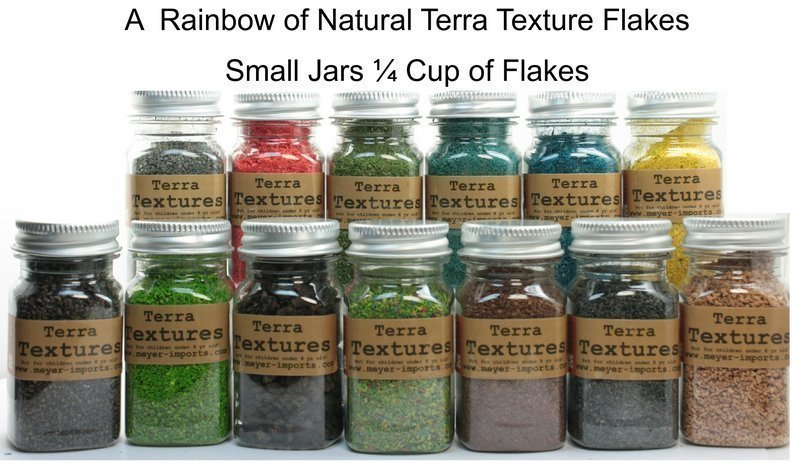 Red - Terra Texture Fairy Garden Flakes - 106-0750