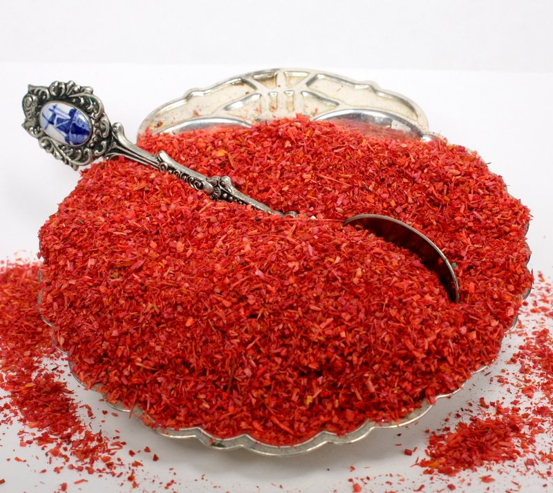 "Red Landscaping Flakes - 5""  - 1.5oz jar - 311-0750"