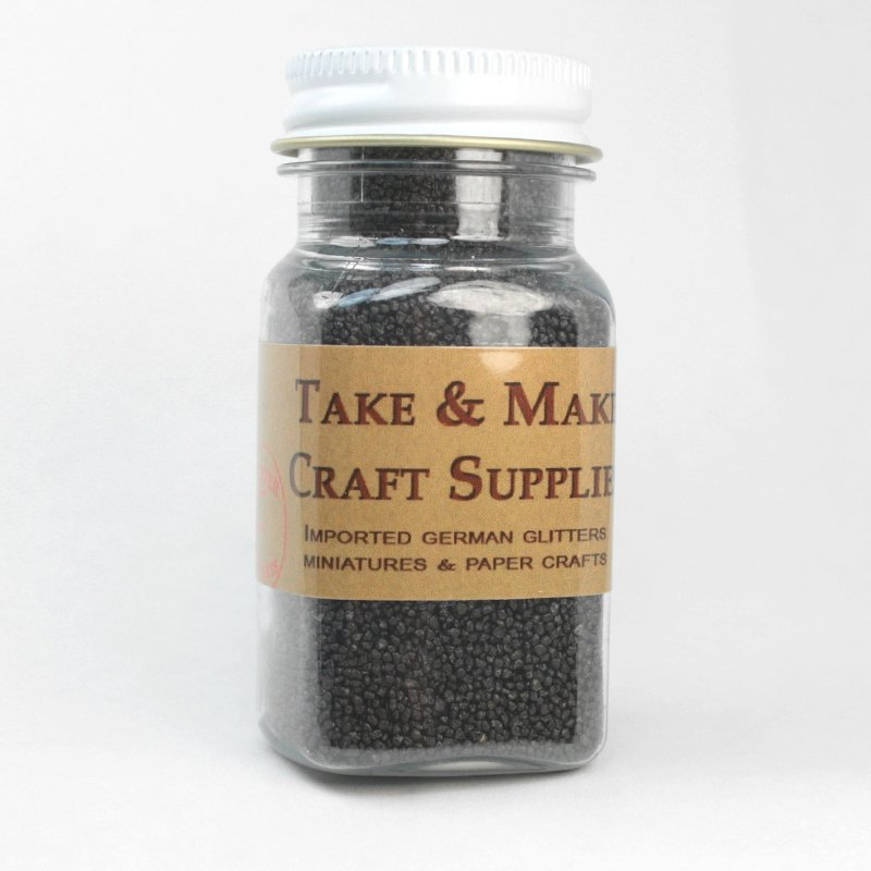 Fairyland  Gravel Flakes - Black - 3oz  - 311-0760