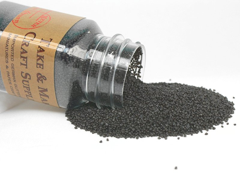 Black Pebbles - Fairyland Gravel - 3oz  - 311-0760