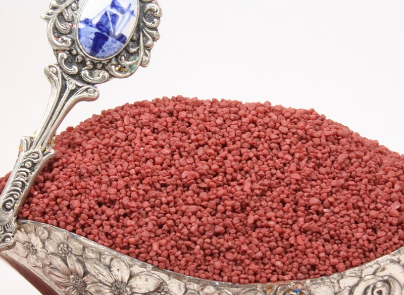 Red - Dark Red Pebbles - Fairyland Gravel  - 1.5oz  - 311-0812