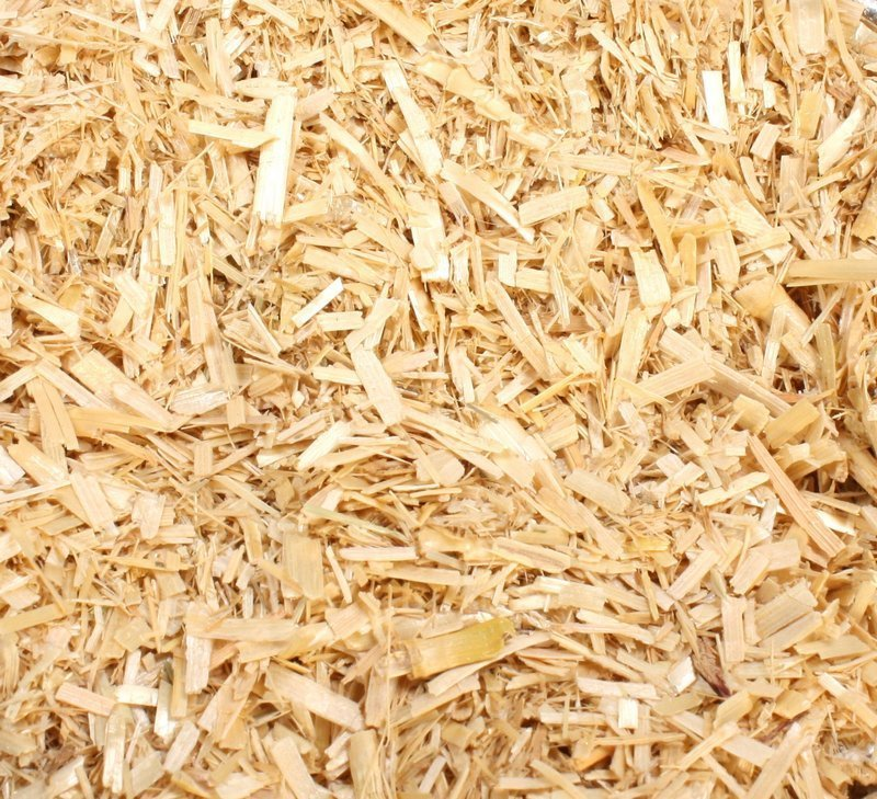 Yellow Golden Hay Flakes - Terra Textures - 4 oz - - 311-0814
