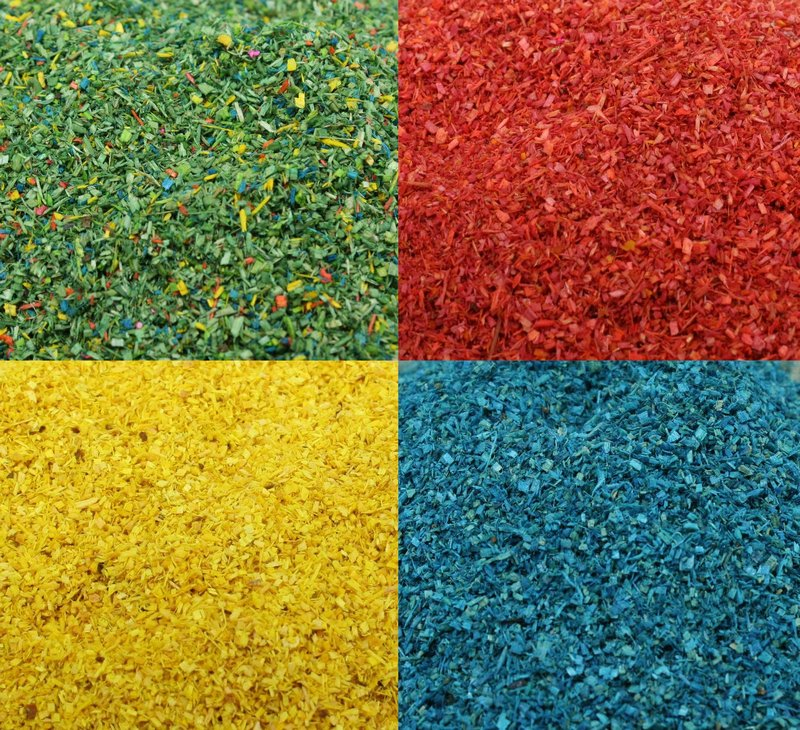Color Landscaping Bright Flakes - 4 Colors - Full 6 oz  311-0817