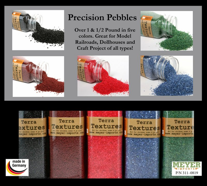 Color Landscaping Bright Pebbles - 5 Colors - 30 oz  311-0819