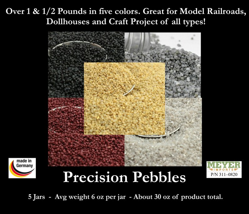 Color Landscaping Natural Pebbles - 5 Colors - 30 oz  311-0820