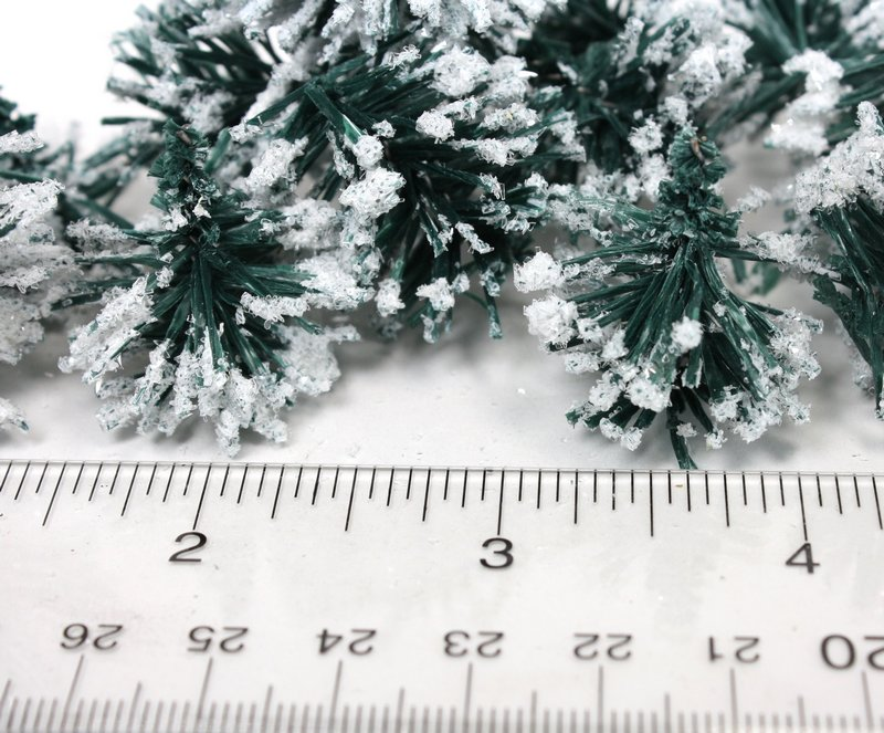 Green Snowy Hedge Pieces Random Cut Sizes  - 311-0821
