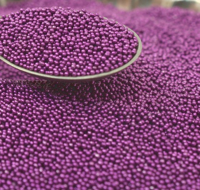 Purple - Glass Deco Beads (311-3013)