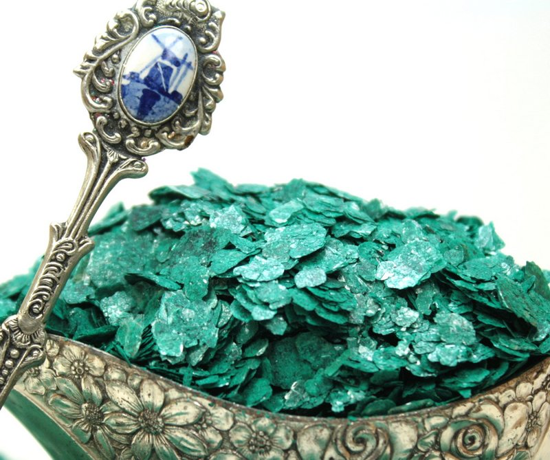 Green - Turquoise - Natural Mica - 311-4322