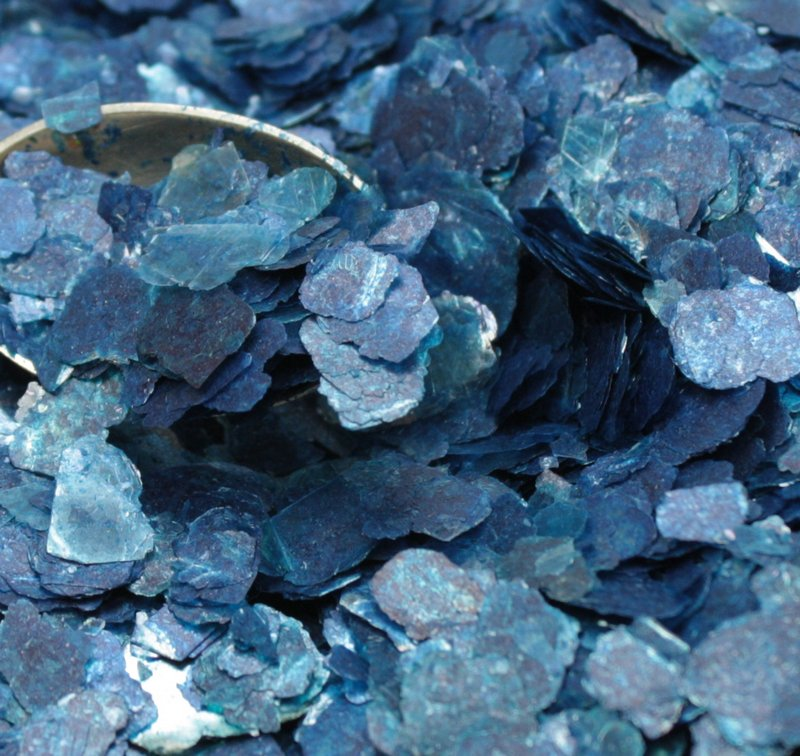 Blue - Deep Blue - Large Natural Mica - 311-4323