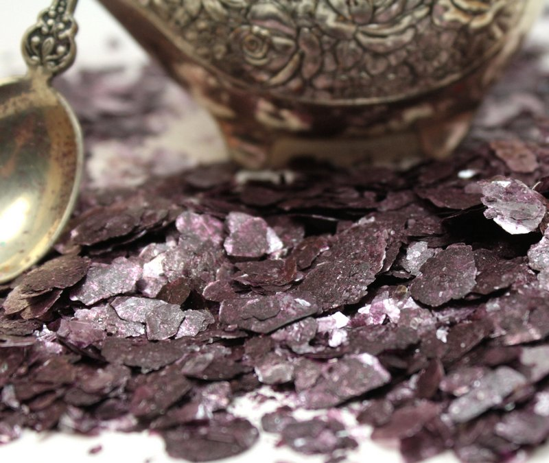 Purple Amethyst - Natural Mica Flakes - 311-4324