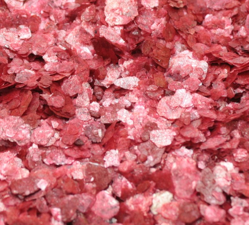 Red - Cinnabar - Natural Mica Flakes - 311-4325
