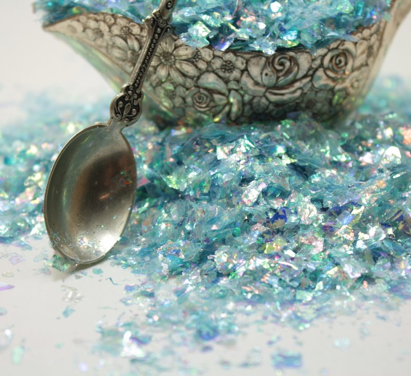 Blue Flitter - Iridescent Ice Flakes - 311-4341