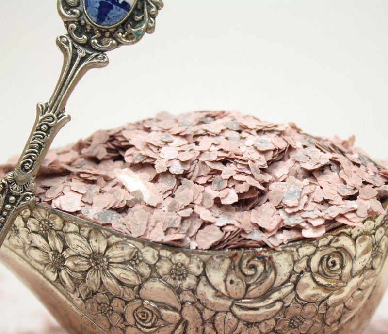 Pink - Dusty Rose Pink - Mica Flakes - 311-4346