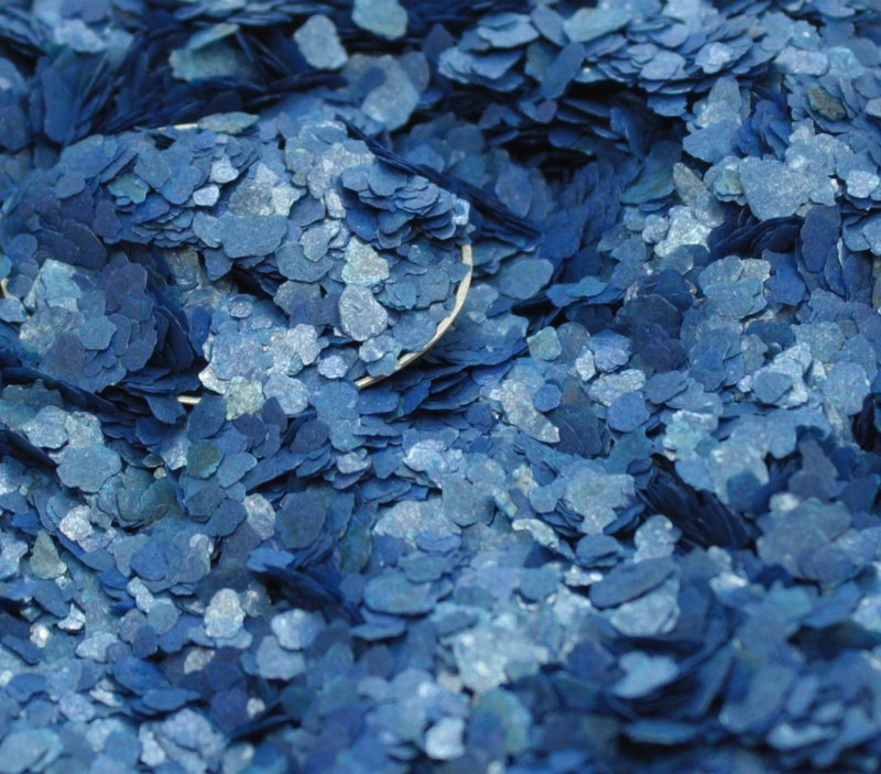 Blue - Deep Blue - Small Natural Mica - 311-4356