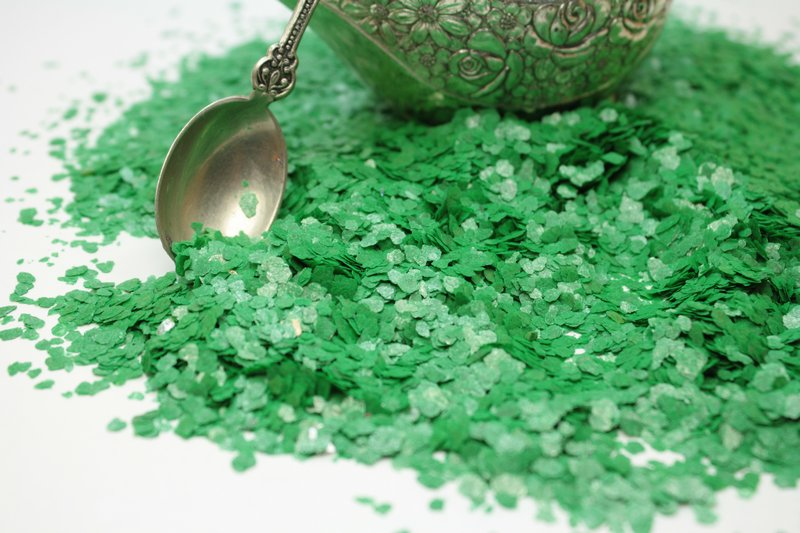 Green - Bright Green - Natural Mica - #311-4357