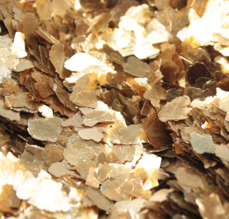 Gold - Large Flake - Natural Mica - #311-4364