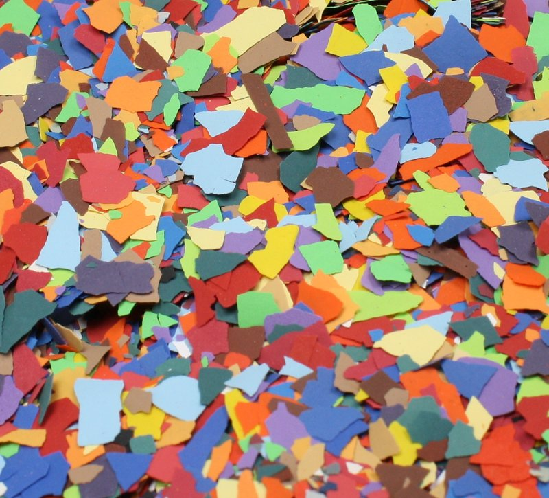 Confetti Flitter - New Blend! - Paint Chip Aggregate - #311-4370