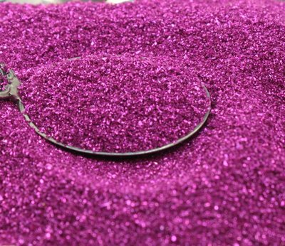 Fuchsia Glass Glitter - 311-9-006