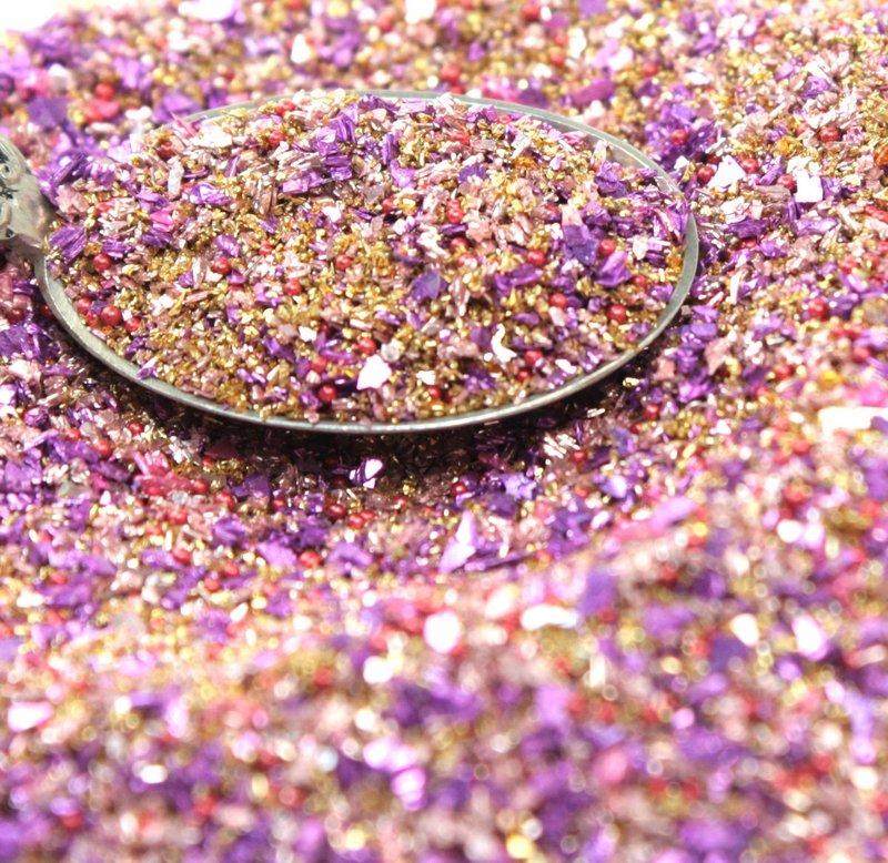 Twilight Sparkle German Glass Glitter Glitter Medleys 311-BD-23