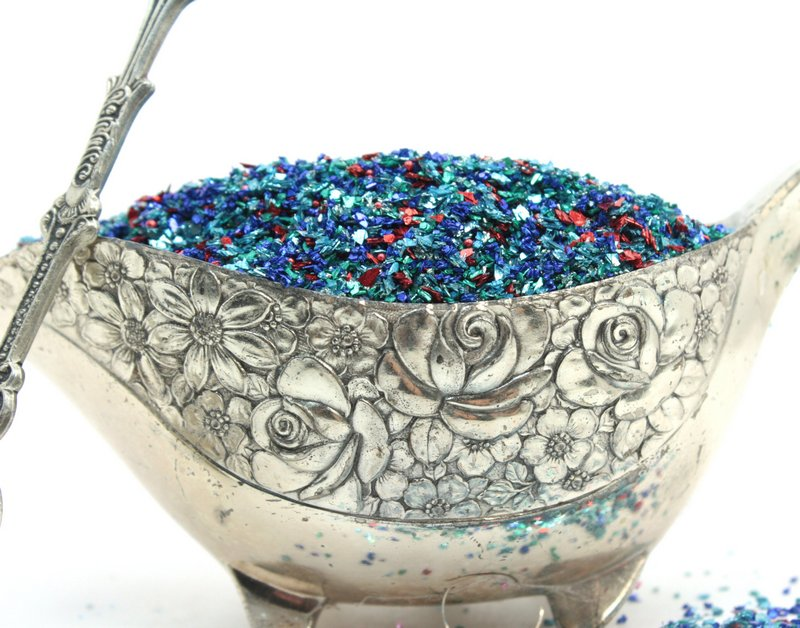 Blue Tungsten Glass Glitter - 311-BD-33
