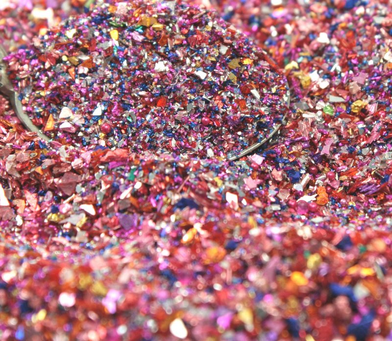 Ruby Glimmer Glitter - Limited -  2 oz jar - 311-BD-61