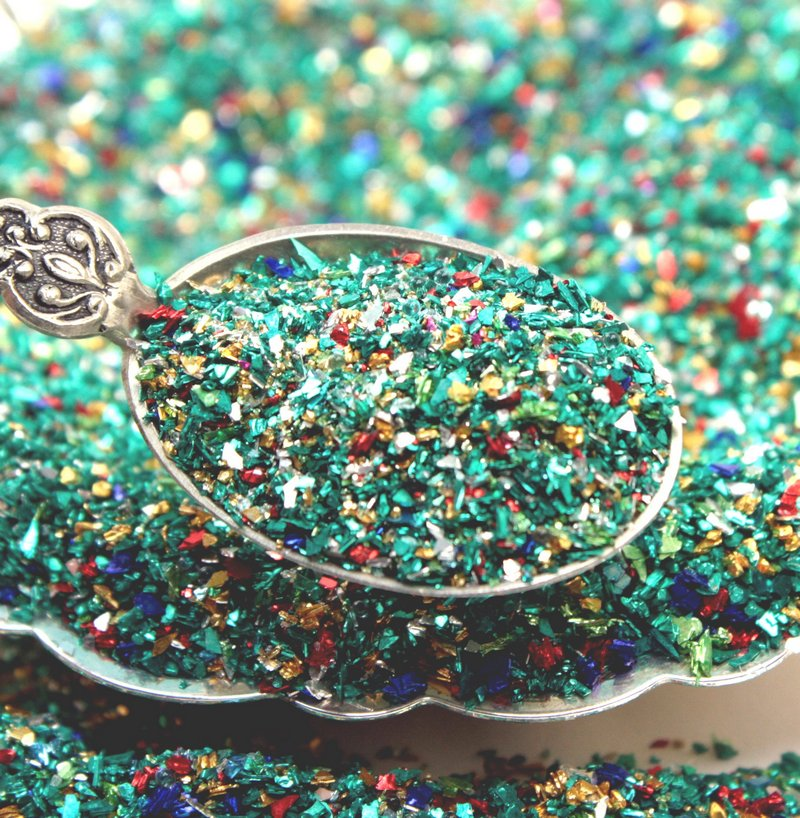 Sea Glass Glitter - Limited -  2 oz jar - 311-BD-62