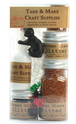 All in One! - Glittery Pumpkin Kit - 311-M-0618