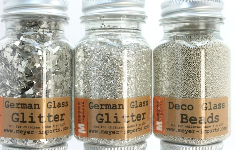 Signature Essentials - Silver Glitter Set - 311-M-0623