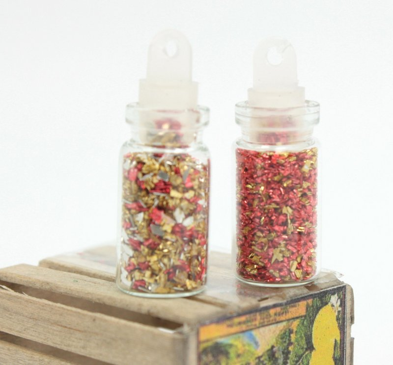 Rosengold - Tiny Sample Set of Glitters  - 311-M-0625