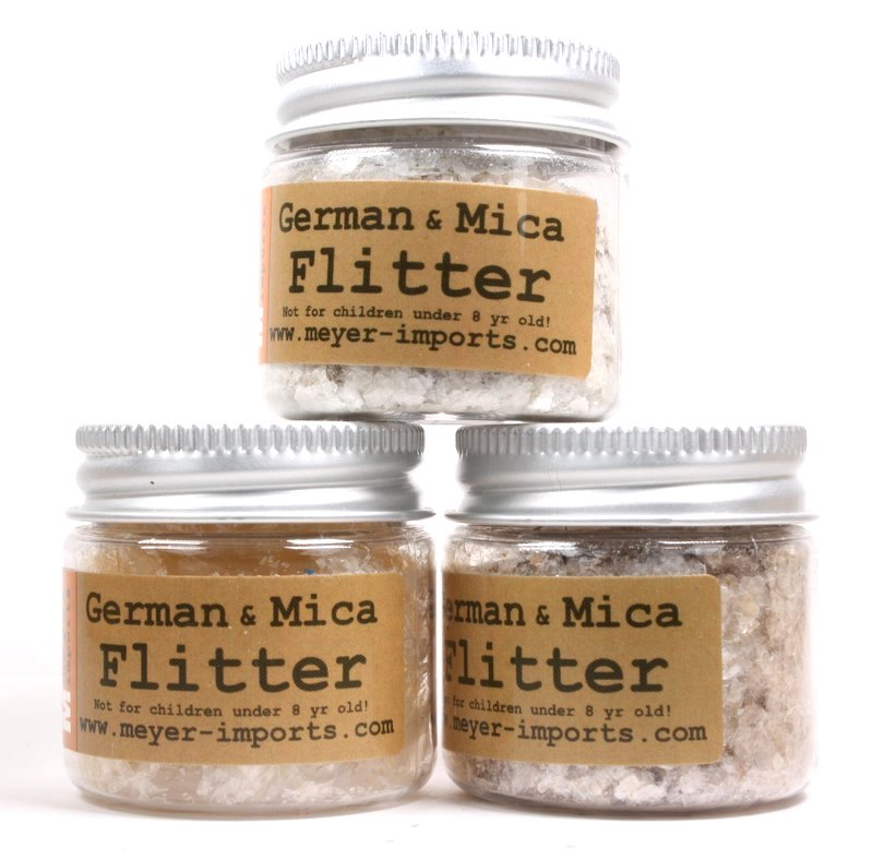 * Brown Tan, Buttercup, Cream White - Mica Flakes - 311-M-0708