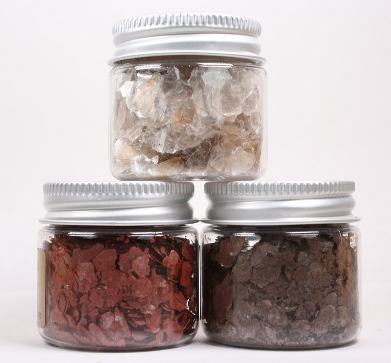 * Pearl, Brick Red, Nutmeg Brown - Mica Flakes - 311-M-0709