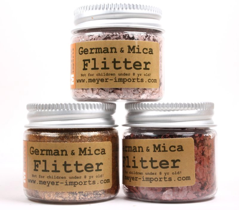* Copper, Dusty Rose, Brick Red - Mica Flakes - 311-M-0712