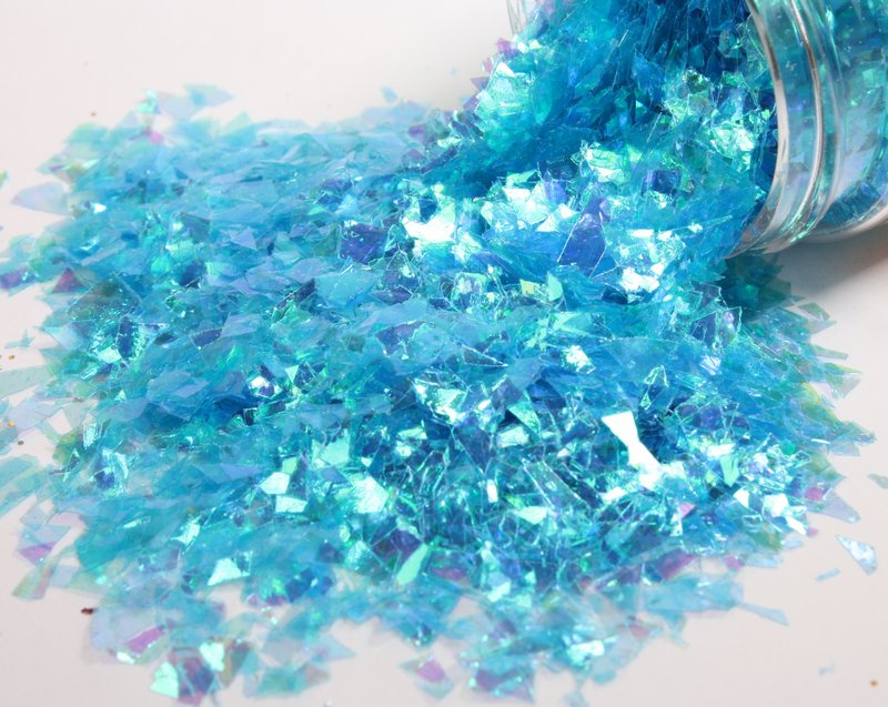* Iridescent Ice Flakes {Set-1} 311-M-0713