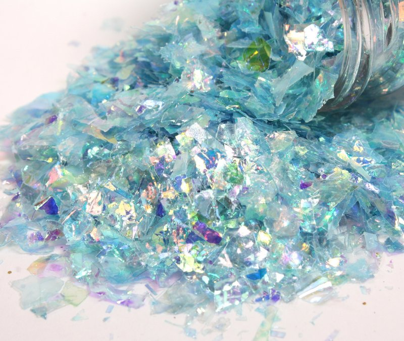 * Iridescent Ice Flakes {Set-3} 311-M-0715