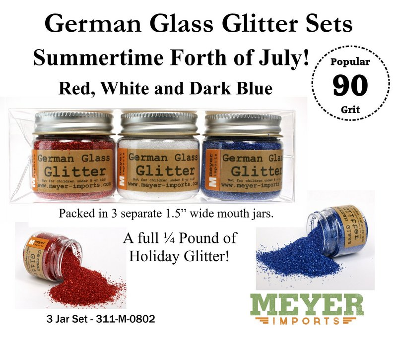 Holiday Glitters - 4th of July - 90 Grit Fine Grain - 311-M-0802