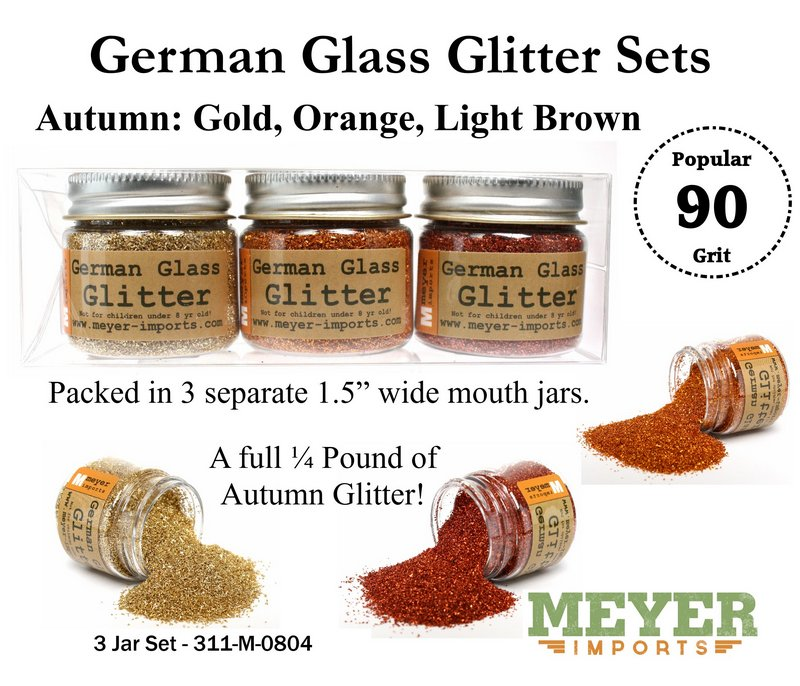 Holiday Glitters - Autumn Colors - 90 Grit - 311-M-0804