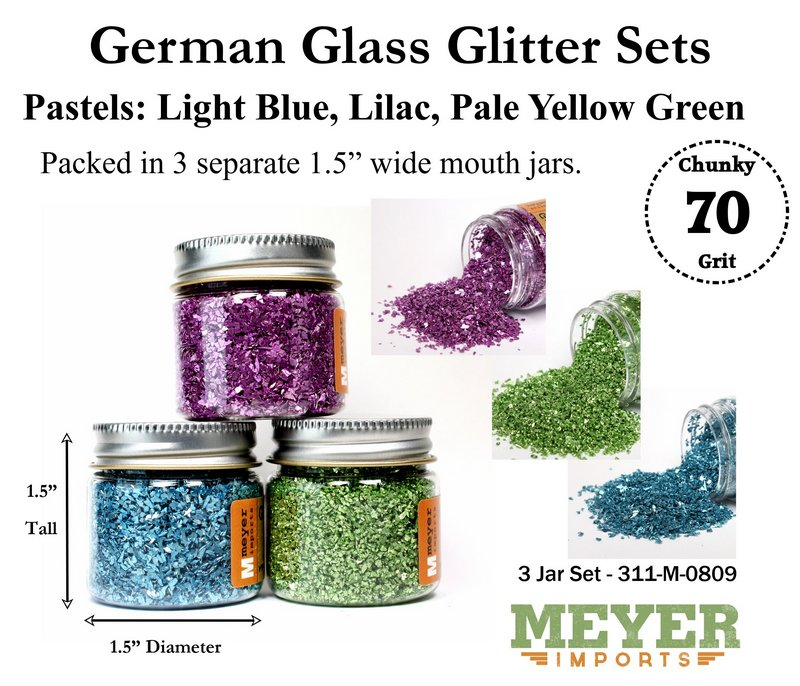 Holiday Glitters - Easter Pastels - 70 Grit Chunky - 311-M-0809