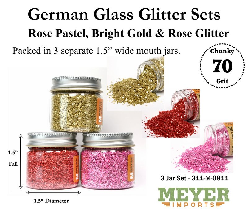 Holiday Glitters - Valentine Day - 70 Grit Chunky - 311-M-0811