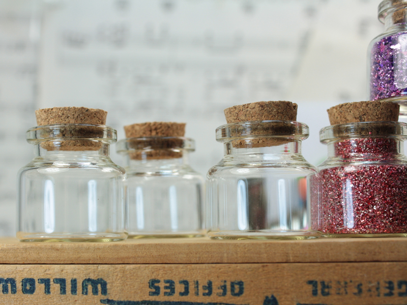 Corked Jar - 1/2 oz Size - Set of 6 - #310-12-841