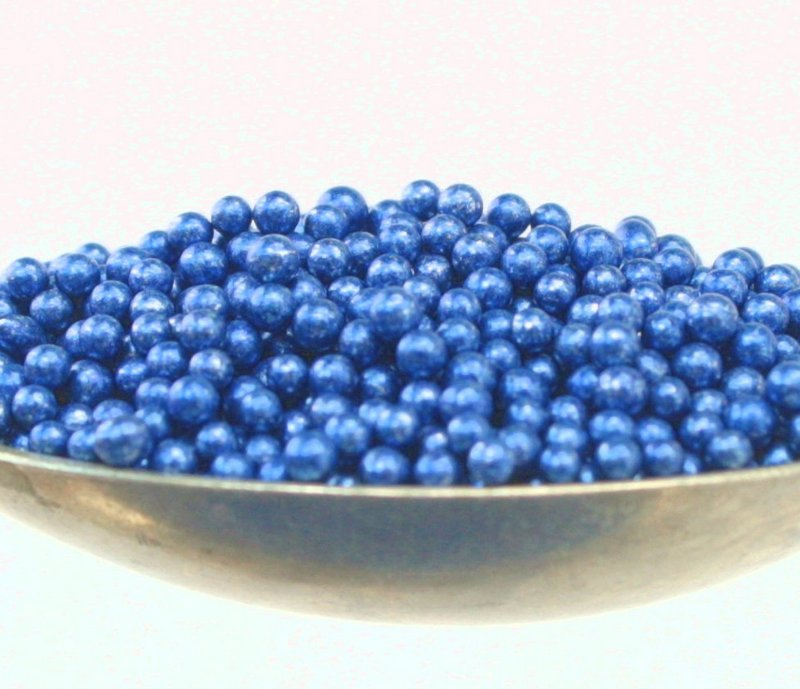 Blue - Glass Deco Beads (311-3002)