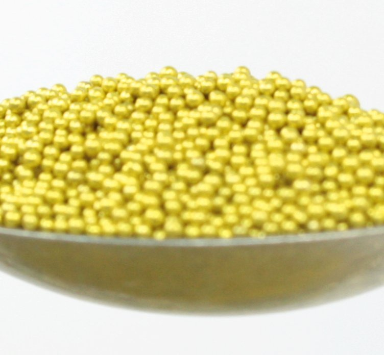 Gold - Glass Deco Beads (311-3008)