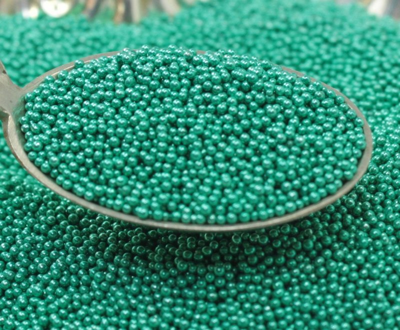 Green - Glass Deco Beads (311-3009)