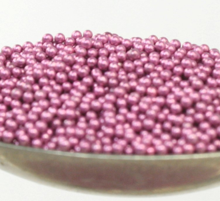 Pink - Glass Deco Beads (311-3012)