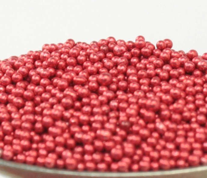 Red - Glass Deco Beads (311-3014)