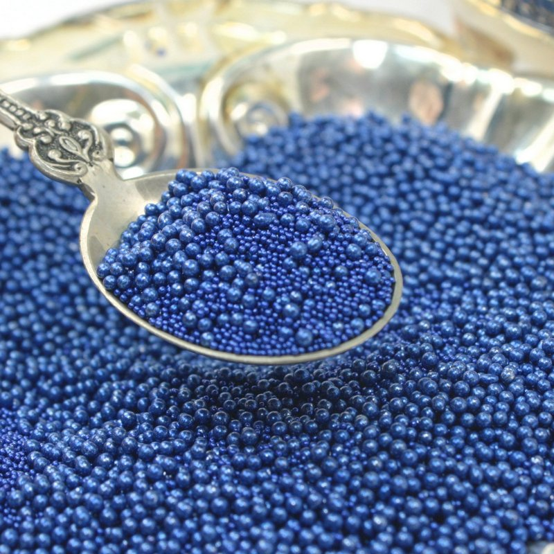 Navy Blue - Glass Beads (311-3011)